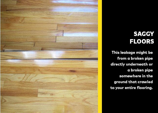 Saggy Floors