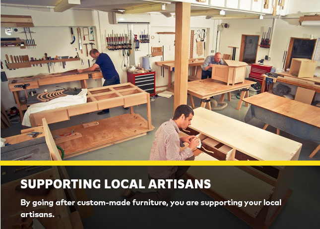 Supporting local artisans