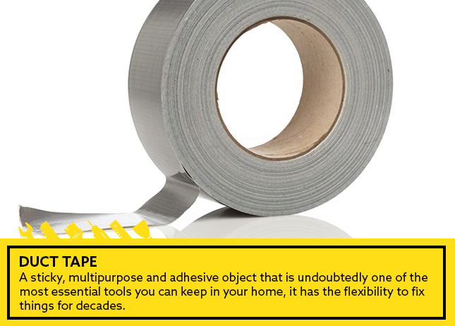 10- Duct tape