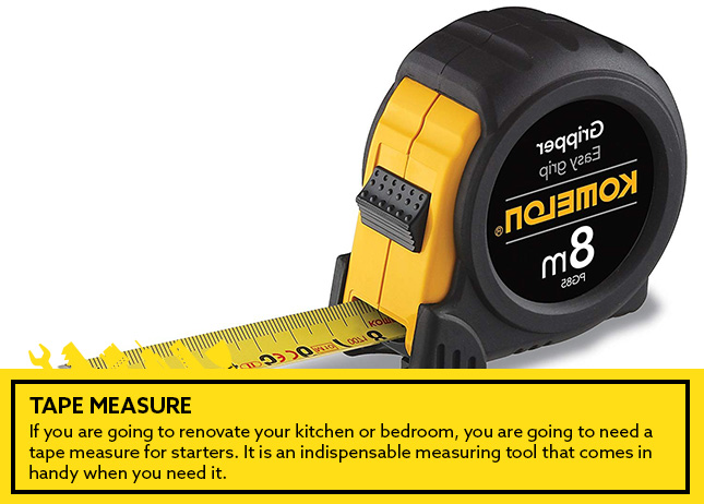 2- Tape measure