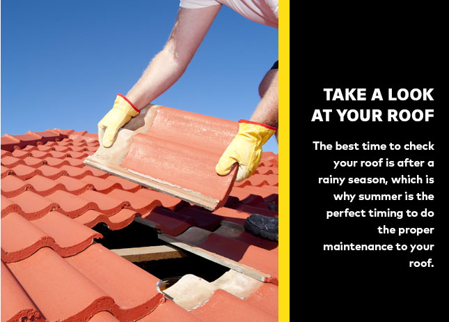 Take a look at your roof