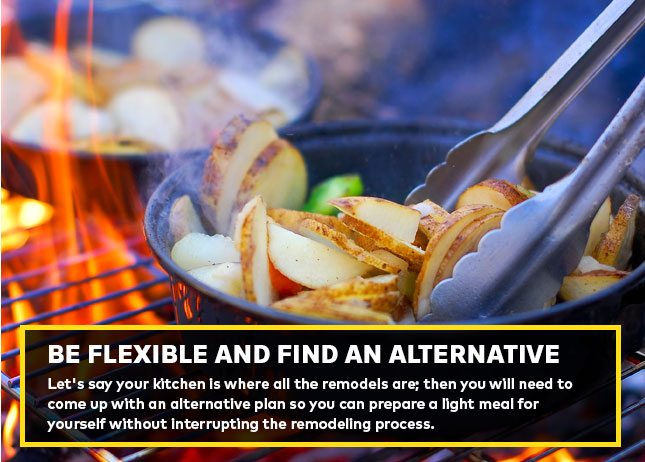 Be flexible and find an alternative