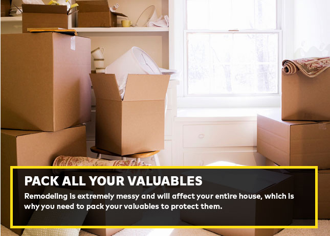 Pack all your valuables
