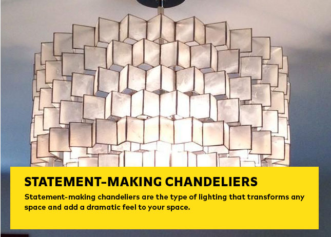 Statement-making Chandeliers