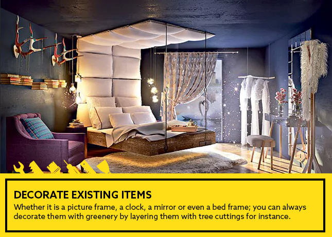Decorate existing items