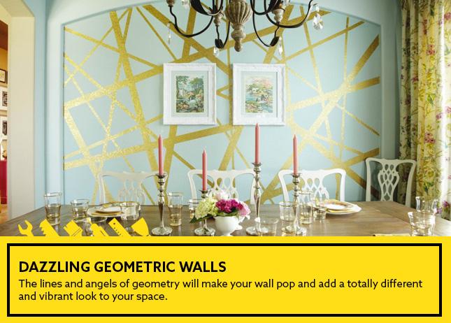 Dazzling Geometric Walls
