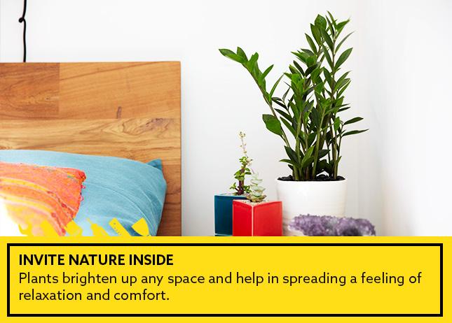 transform your bedroom - nature-en
