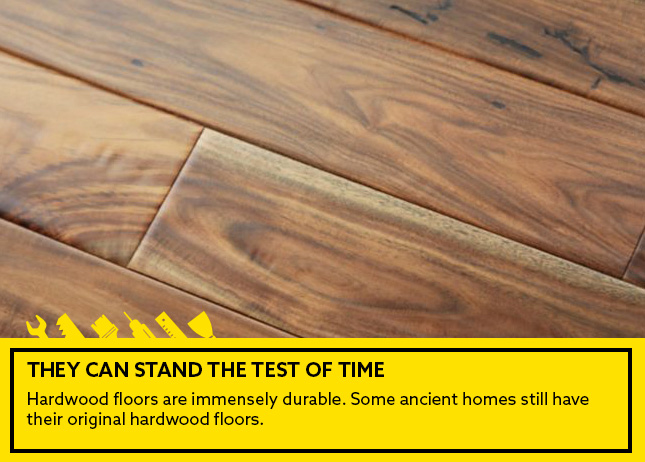 Pros of hardwood flooring