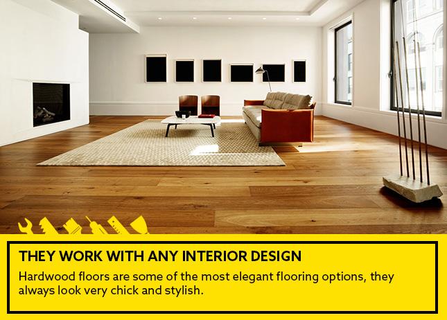Pros of hardwood flooring