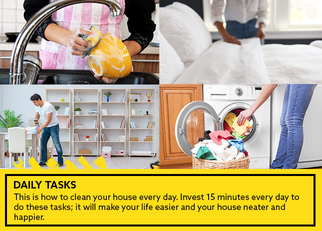 Daily Tasks This Is How To Clean Your House