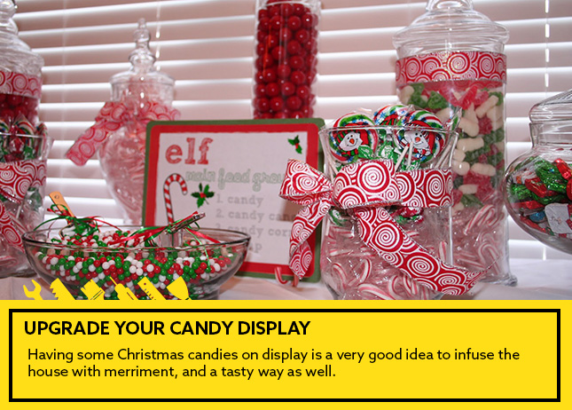 3- Upgrade your candy display