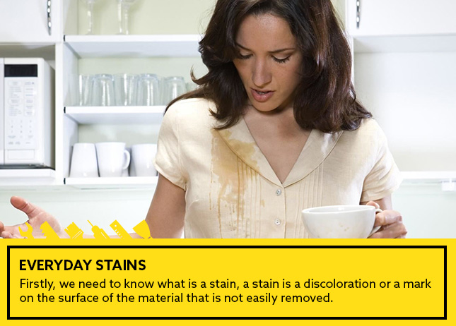 Everyday stains!