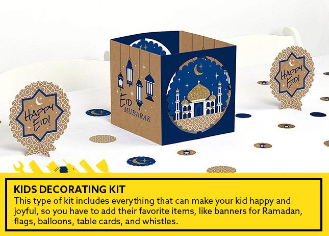 طقم تحضير ديكورات رمضانية للأطفال
