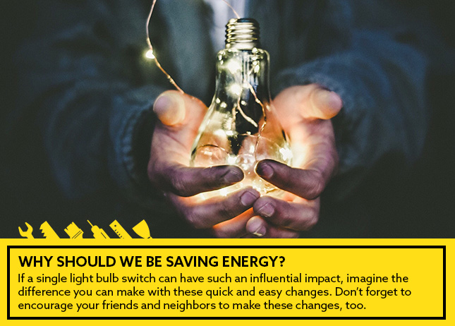 Ways for saving on your electricity bill and saving energy