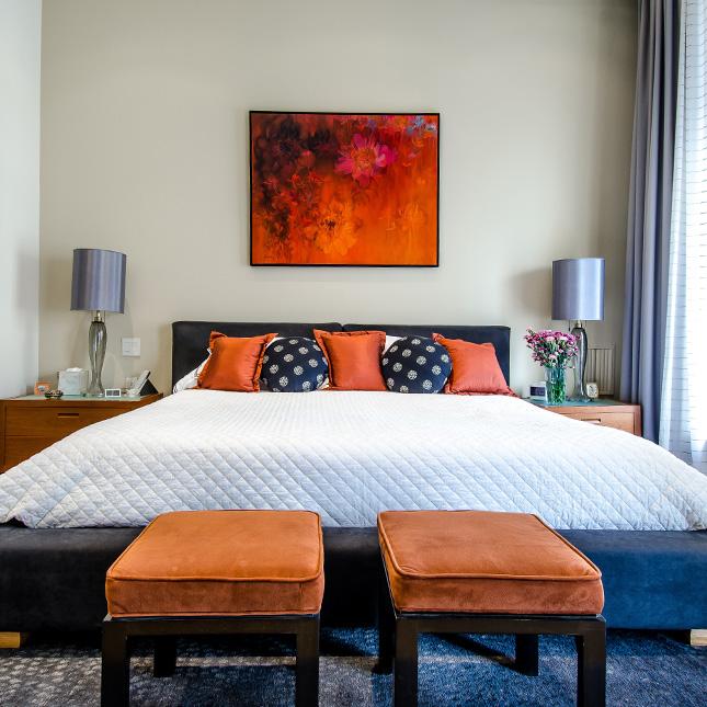 الوان غرفة النوم: أشهر 9 ألوان لغرفة النوم الخاصة بك